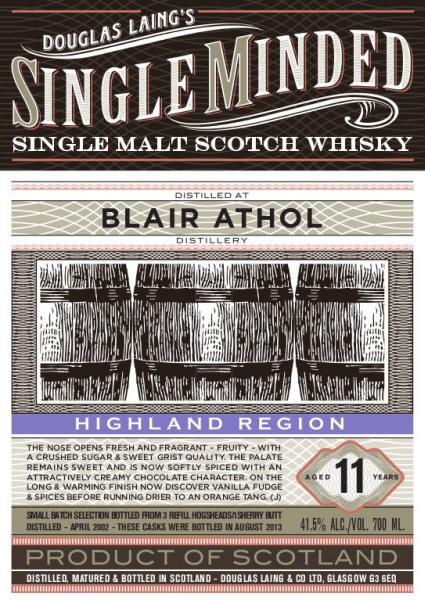 Blair Athol 2002 DL