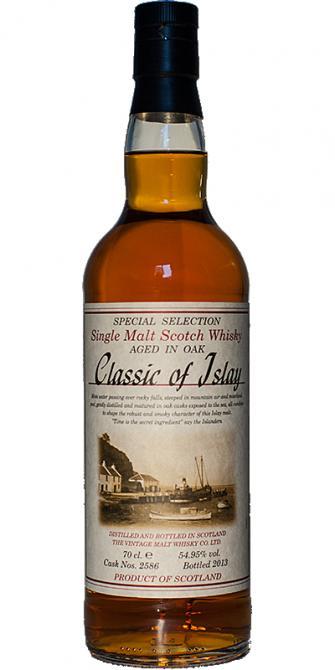Classic of Islay Vintage 2013 JW