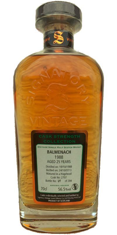 Balmenach 1988 SV