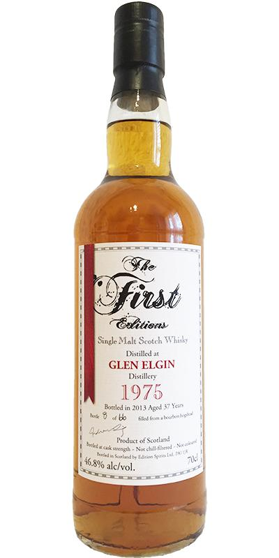 Glen Elgin 1975 ED
