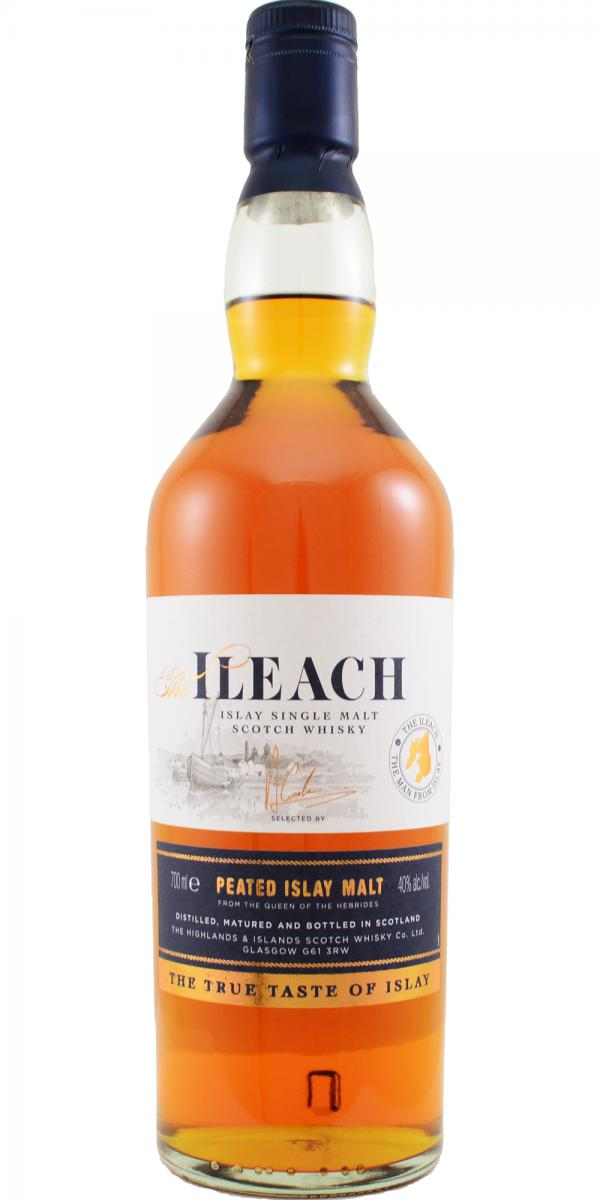 The Ileach Peated Islay Malt H&I