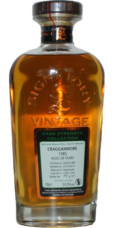 Cragganmore 1985 SV
