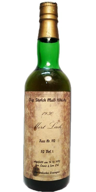 Mortlach 1930 UD