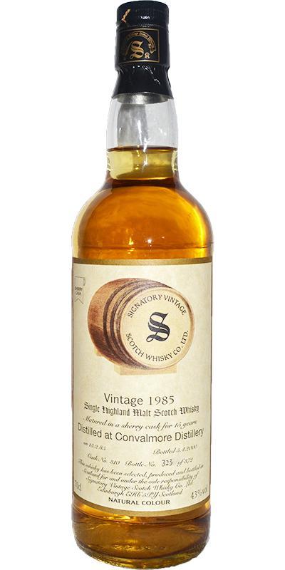 Convalmore 1985 SV