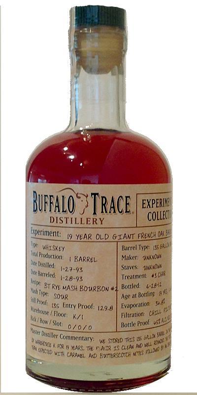 Buffalo Trace 1993