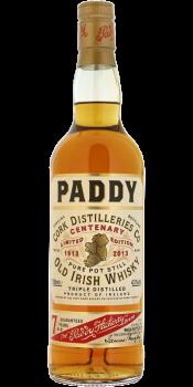 Paddy Centenary 1913-2013