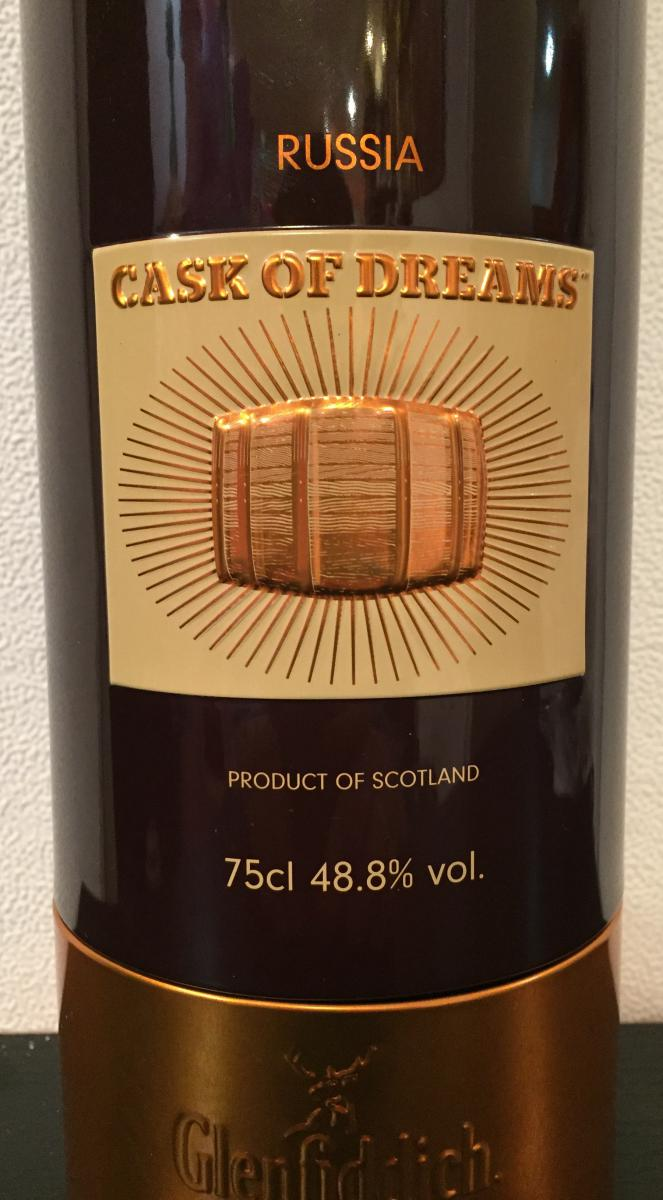 Glenfiddich Cask Of Dreams