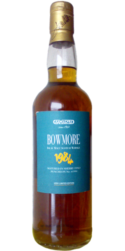 Bowmore 1984 Sa