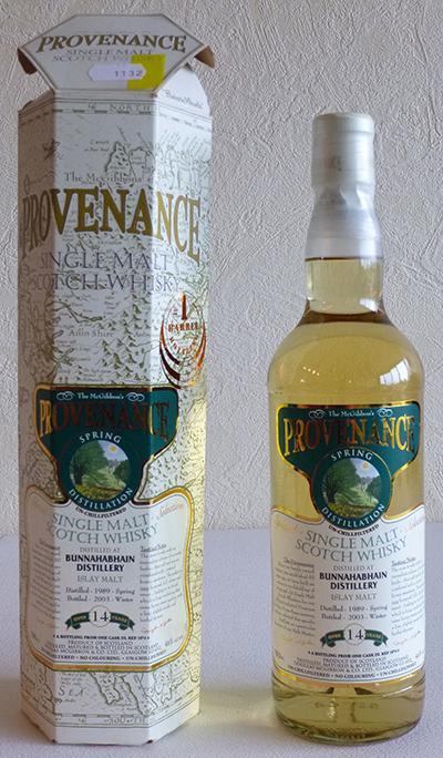 Bunnahabhain 1989 McG