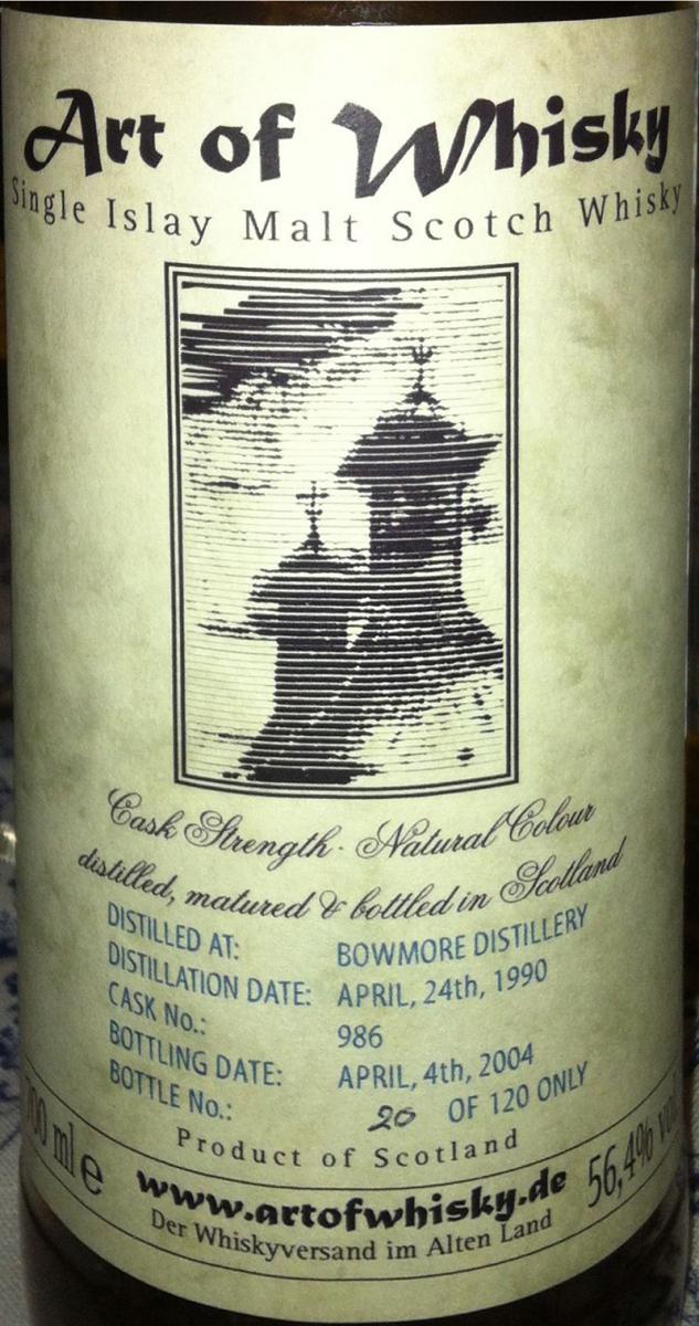 Bowmore 1990 AW