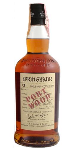 Springbank 1989 Port