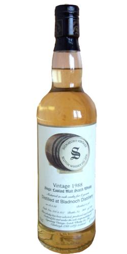 Bladnoch 1988 SV