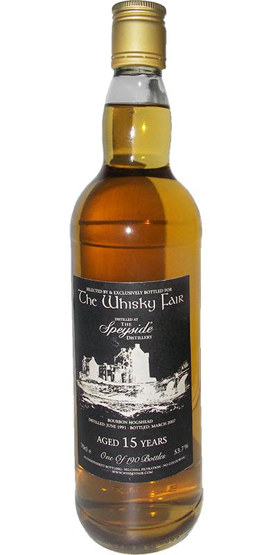 Speyside Distillery 1991 WF