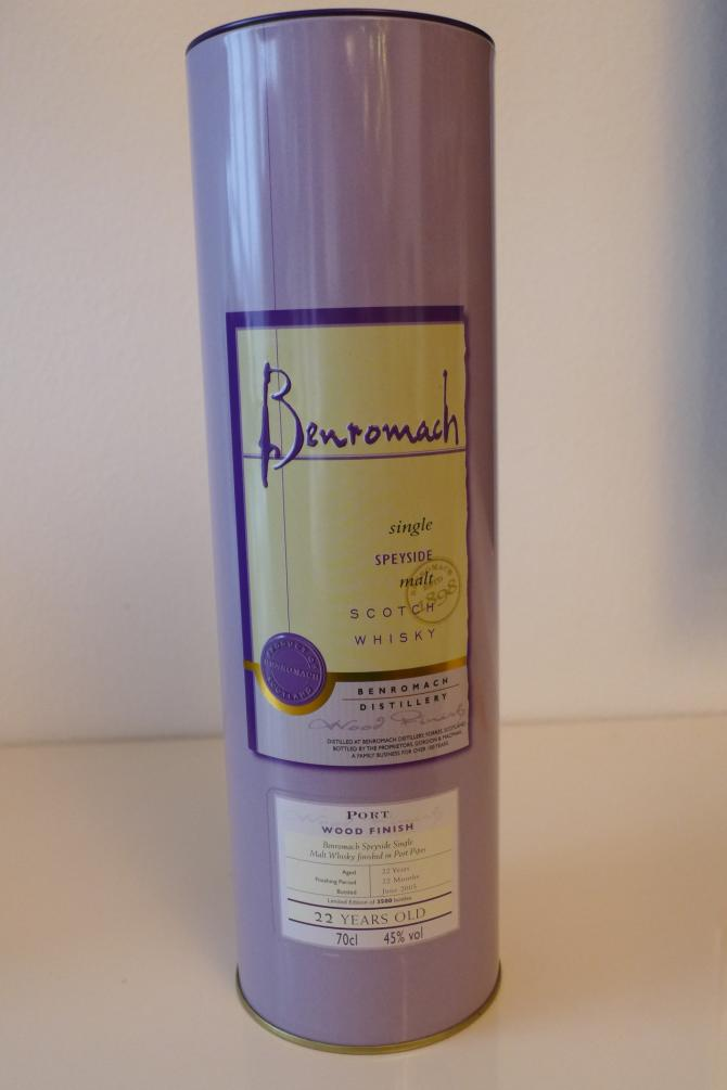 Benromach 22-year-old