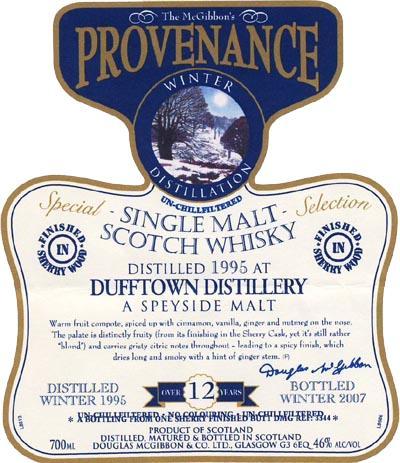 Dufftown 1995 McG
