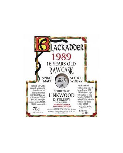 Linkwood 1989 BA
