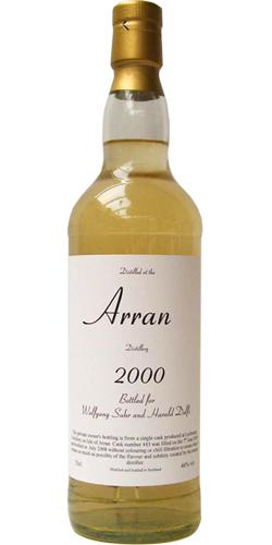Arran 2000 Private Bottling