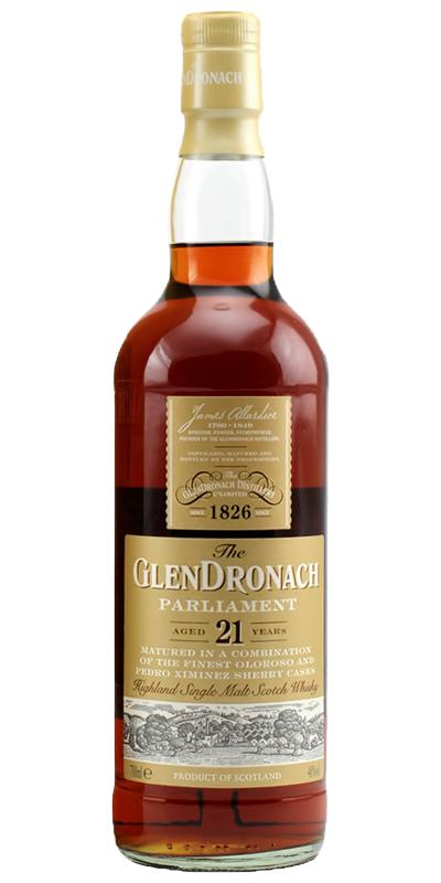 Glendronach 21-year-old Parliament