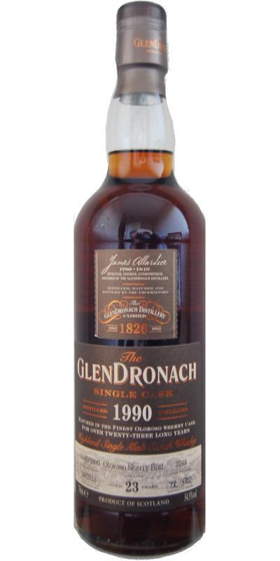 Glendronach 1990