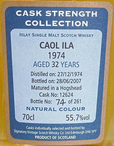 Caol Ila 1974 SV