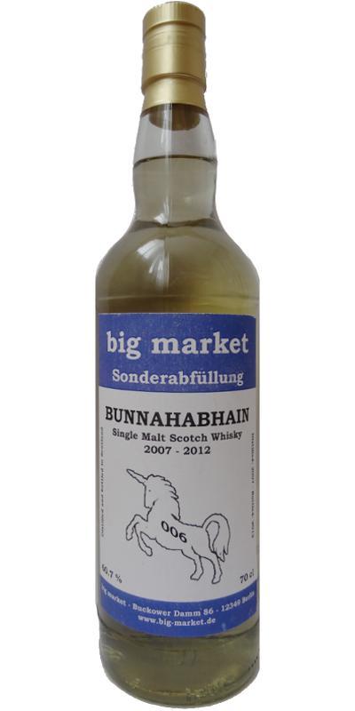 Bunnahabhain 2007 BM