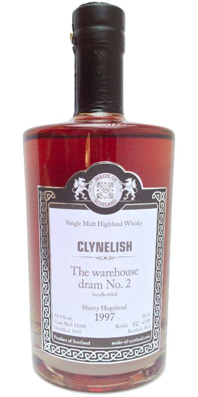 Clynelish 1997 MoS