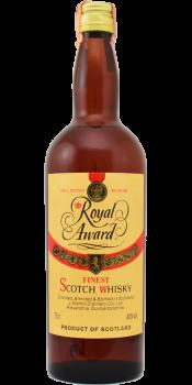 Royal Award Finest Scotch Whisky