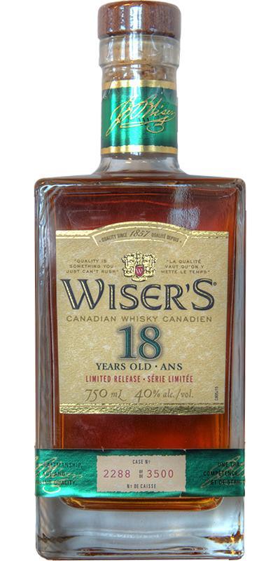 Wiser's 18-year-old