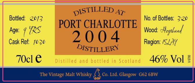 Port Charlotte 2004 CC