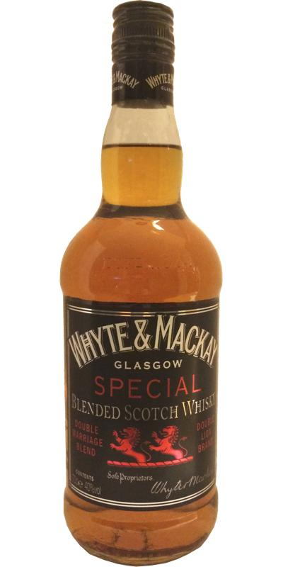Whyte & Mackay Special Blended Scotch Whisky W&M