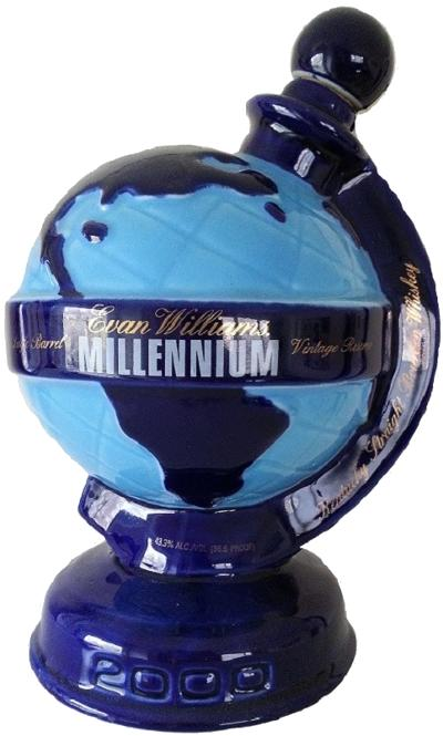 Evan Williams Millennium Decanter