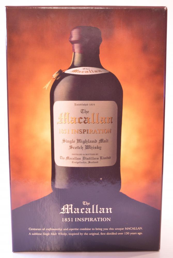 Macallan 1851 Inspiration
