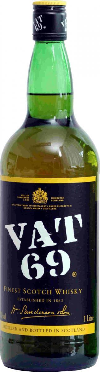 VAT 69 Finest Scotch Whisky
