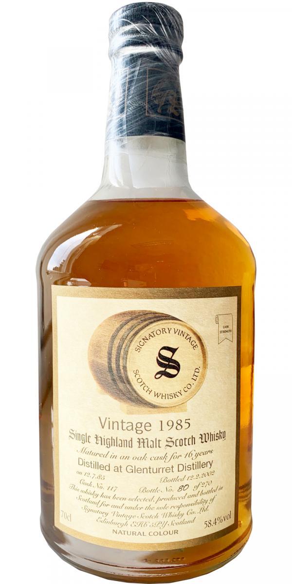 Glenturret 1985 SV
