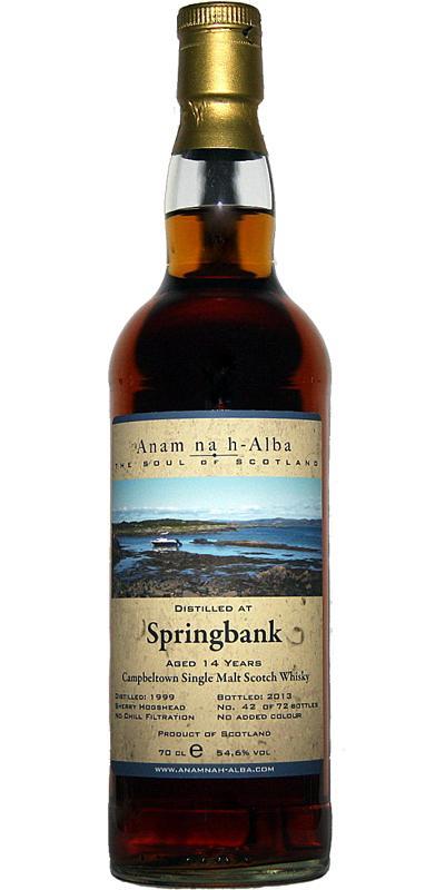 Springbank 1999 ANHA