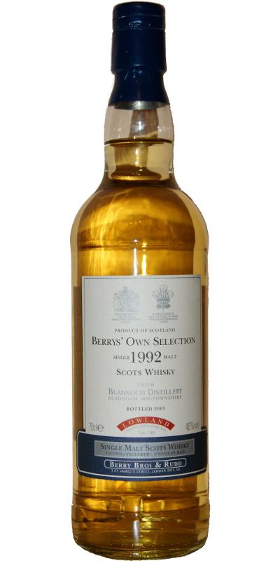 Bladnoch 1992 BR