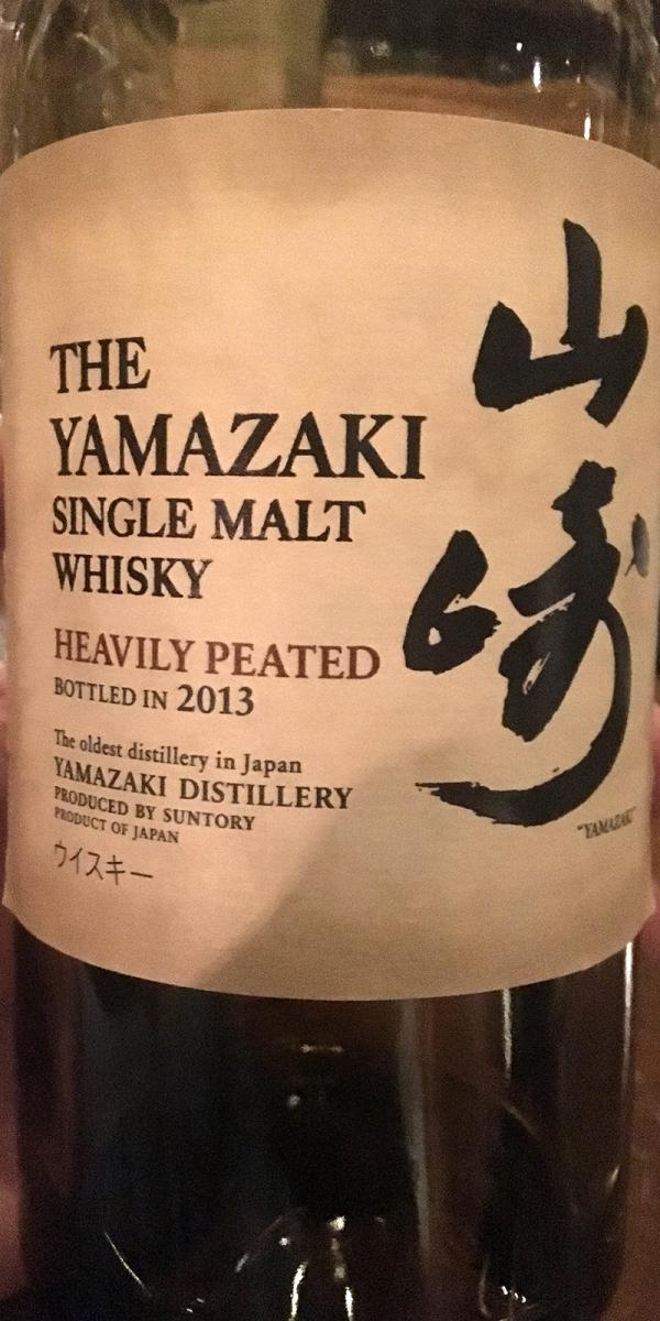 Yamazaki Heavily Peated
