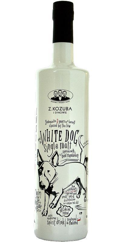 Z. Kozuba White Dog