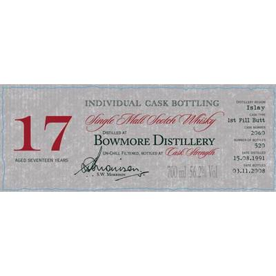 Bowmore 1991 DR