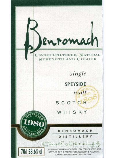 Benromach 1980