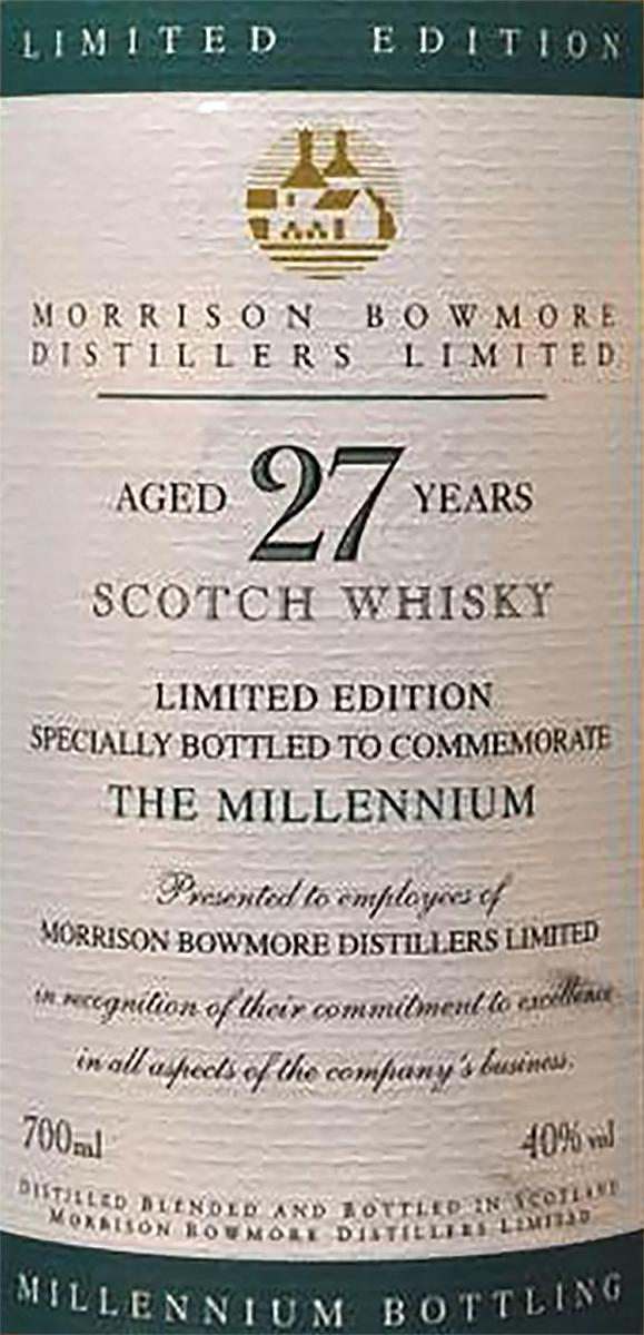 Bowmore 27-year-old