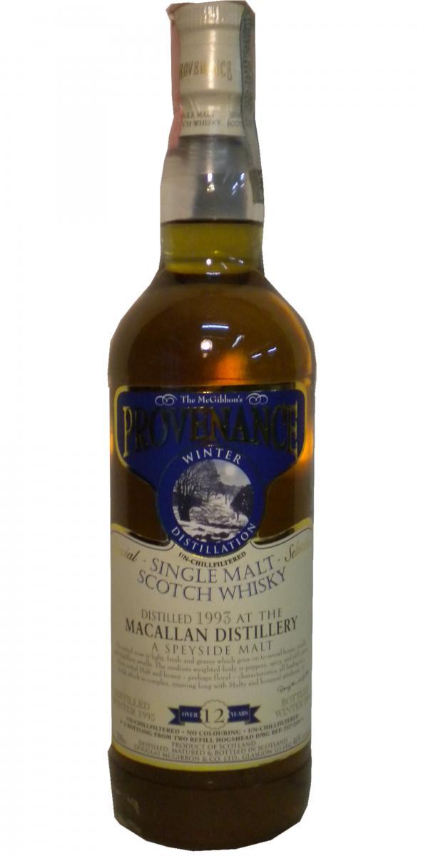 Macallan 1993 McG