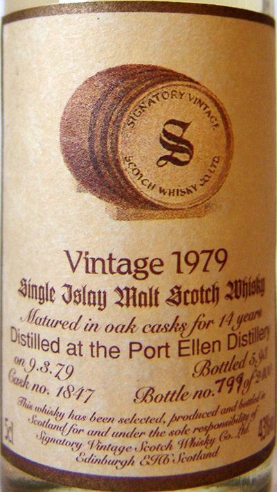Port Ellen 1979 SV