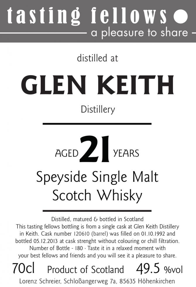 Glen Keith 1992 TF