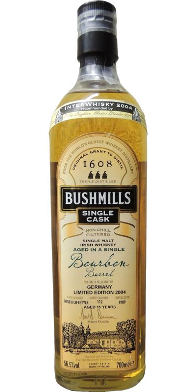 Bushmills 1989 Single Cask