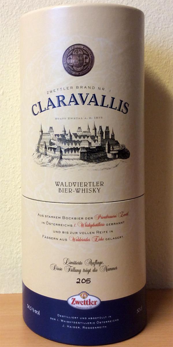 Claravallis Zwettler Brand Nr. 1