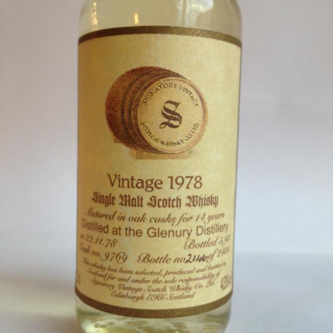 Glenury Royal 1978 SV