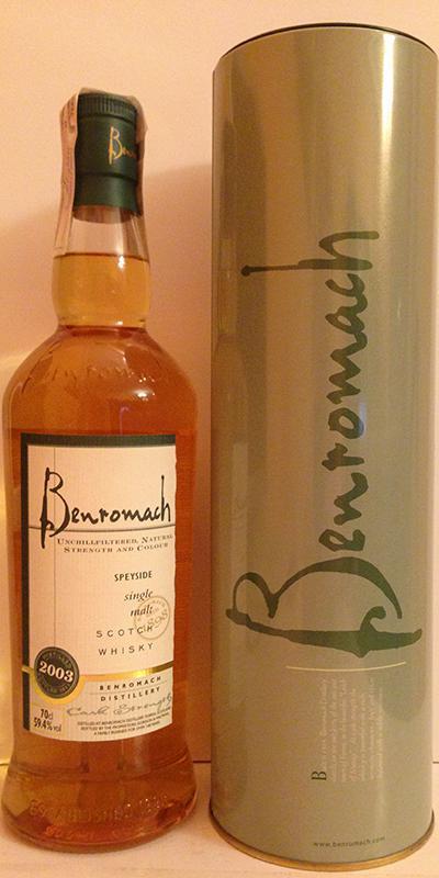 Benromach 2003