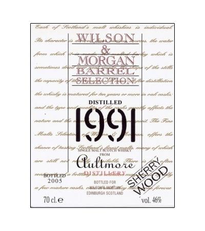 Aultmore 1991 WM