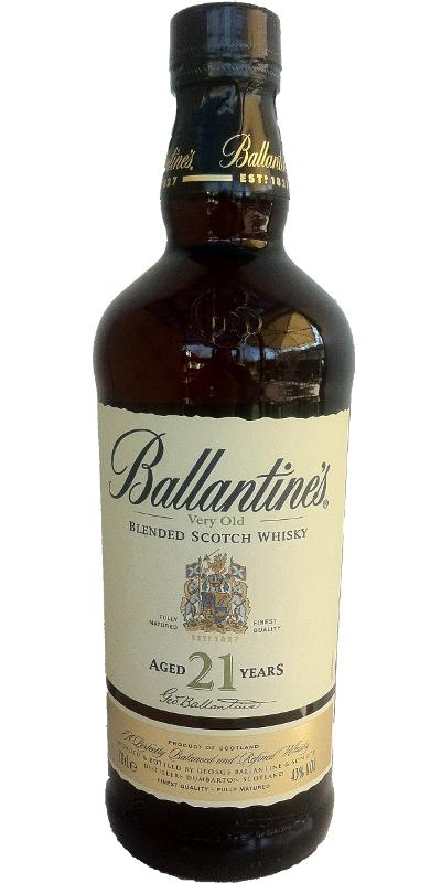 Ballantine's 21-year-old